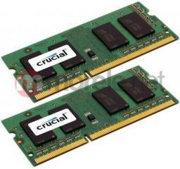 Pamięć do laptopa Crucial 2x4GB DDR3 1600MHz CL11 CT2KIT51264BF160B