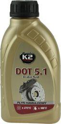 K2 Plyn Hamulcowy DOT-5.1 0,5L K2