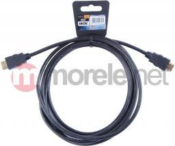 Kabel iBOX HDMI - HDMI, 3, Czarny (ITVFHD02)