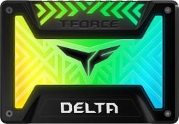 Dysk SSD Team Group T-Force Delta RGB 250 GB 2.5'' SATA III (T253TR250G3C313)