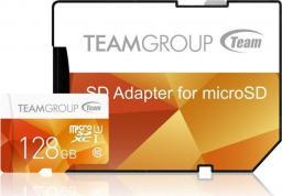 Karta Team Group MicroSDXC 128 GB Class 10 UHS-I  (TCUSDX128GUHS42)