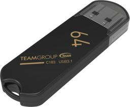 Pendrive Team Group C183 64GB USB 3.0 Czarna