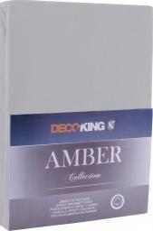 Decoking Prześcieradło Amber Steel r. 90x200cm