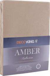 Decoking Prześcieradło Amber Capuccino r. 90x200 cm