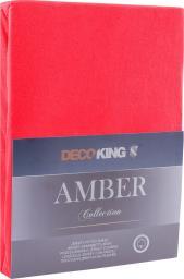 Decoking Prześcieradło Amber Red r. 90x200cm