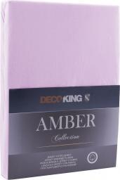 Decoking Prześcieradło Amber Lilac r. 90x200cm