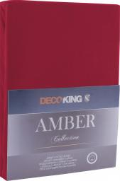 Decoking Prześcieradło Amber Maroon r. 90x200cm