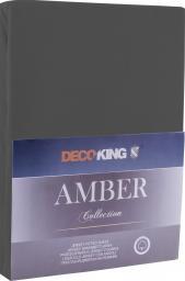 Decoking Prześcieradło Amber Dimgray r. 90x200cm