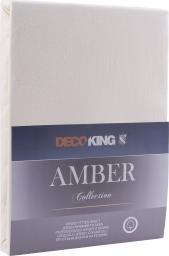 Decoking Prześcieradło Amber Cream r. 90x200cm