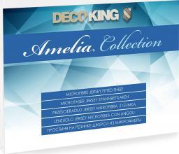 Decoking Prześcieradło Jersey Amelia White r. 80x200cm