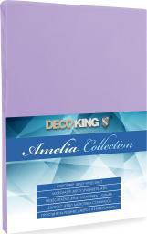 Decoking Prześcieradło Jersey Amelia Violet r. 80x200cm