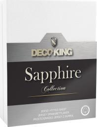Decoking Prześcieradło Sapphire Collection 140x200 cm białe