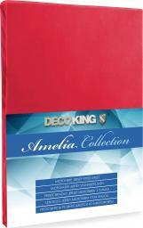 Decoking Prześcieradło Jersey Amelia Red r. 90x200cm