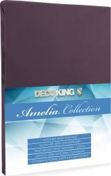 Decoking Prześcieradło Jersey Amelia Chocolate r. 80x200cm