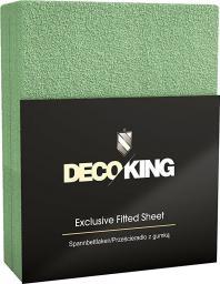 Decoking DecoKing frotinė paklodė Bottle Green, 70x140 cm