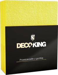 Decoking Prześcieradło z gumką Light Yellow r. 50x100cm