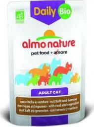 Almo Nature Mokra karma dla kotów z cielęciną i warzywami Daily Menu 70 g Bio