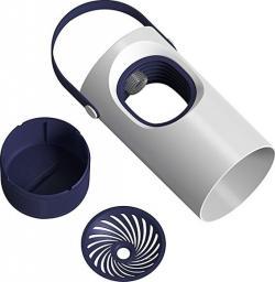 Baseus Lampa przeciw komarom biało-fioletowa