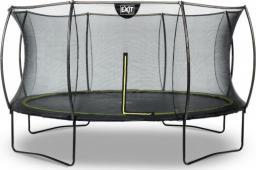 EXIT Trampolina ogrodowa z siatką zewnętrzną Silhouette czarna 14FT 427cm