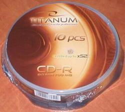 Titanum CD-R/10/Cake 700MB/80Min