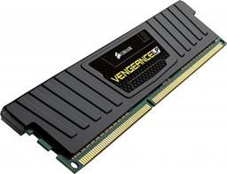 Pamięć Corsair Vengeance LP, DDR3, 8 GB,1600MHz, CL9 (CML8GX3M1A1600C9)