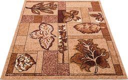 Kilimas dywan brązowy 60x110 cm (13009488)