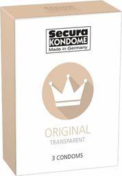 """Secura Prezervatyvai Secura """"Original"""" 3 vnt"""