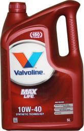 Olej silnikowy Valvoline OLEJ VALVOLINE 10W-40 MAXLIFE 5L 872297