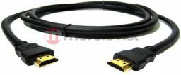 Kabel Qoltec HDMI - HDMI, 3, Czarny (27602)
