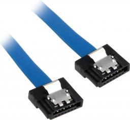 Akasa Kabel Proslim SATA 3 Kabel 15cm prosty - niebieski AK-CBSA05-15BL