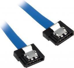 Akasa Kabel Proslim SATA 3 Kabel 30cm prosty - niebieski AK-CBSA05-30BL