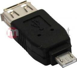 Adapter USB InLine Micro USB - USB Czarny (31600)