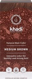Khadi Henna do włosów Natural Hair Color Medium Brown 100g