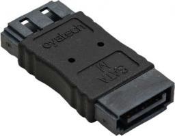 InLine Adapter SATA - żeński / żeński (27700A)