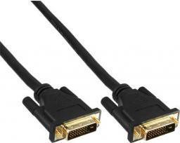 Kabel InLine DVI-D - DVI-D 1.5m czarny (17774P)