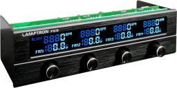 "Lamptron Panel FC5 V2 Fan Controller 5,25"" - czarny ( LAMP-FC0052H )"