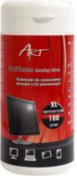 ART Ściereczki XL do czyszczenia ekranów LCD/TFT 100szt. (CZART AS-14)