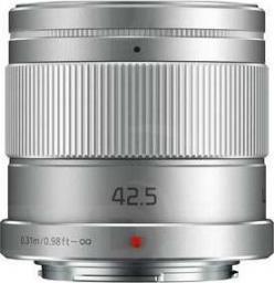 Obiektyw Panasonic LUMIX G 42,5mm/F1.7 ASPH Power OIS Srebrny (H-HS043E-S)