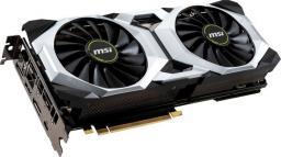 Karta graficzna MSI GeForce RTX 2080 VENTUS OC 8GB (GeForce RTX 2080 VENTUS 8G OC)