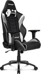 Fotel Akracing Core LX Czarno-biały (AK-LX-WT)