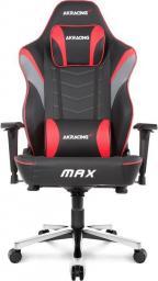 Fotel Akracing Master MAX Czarno-czerwony (AK-MAX-RD)