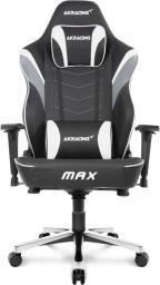 Fotel Akracing Master MAX Czarno-Biały (AK-MAX-WT)