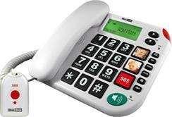 Telefon przewodowy Maxcom KXT 481 SOS