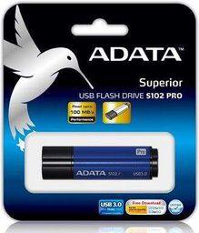 Pendrive ADATA S102 Pro Advanced 64GB (AS102P-64G-RBL)