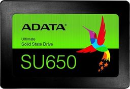 "Dysk SSD ADATA Ultimate SU650 960 GB 2.5"" SATA III (ASU650SS-960GT-R)"