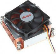 Akasa AK-CC6502BT01 2U CPU Cooler dla LGA 2011-70 mm
