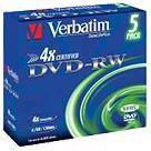 Verbatim DVD-RW/5/Slim 4.7GB 4x Advanced SERL 43285
