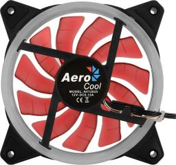 Aerocool Wentylator REV (AEROREV-120RED-LED)