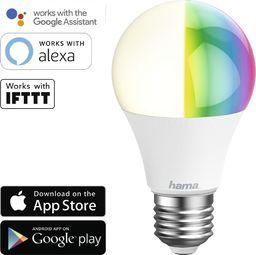 Hama ŻARÓWKA LED WIFI E27 RGB