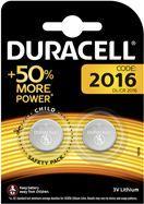 Duracell Bateria CR2016 2szt.